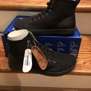 Birkenstock Bartlett sneakers black sz 7 narrow